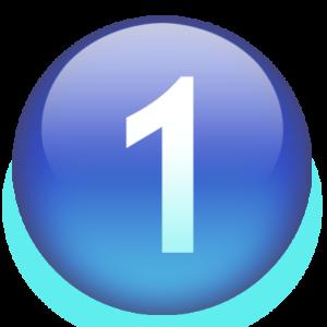 number1-blue